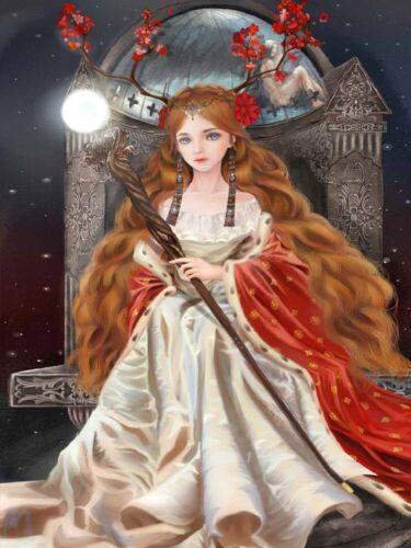 5D DIY Full Drill Diamond Painting Kits Angel Fairy Cross Stitch Embroidery Gift