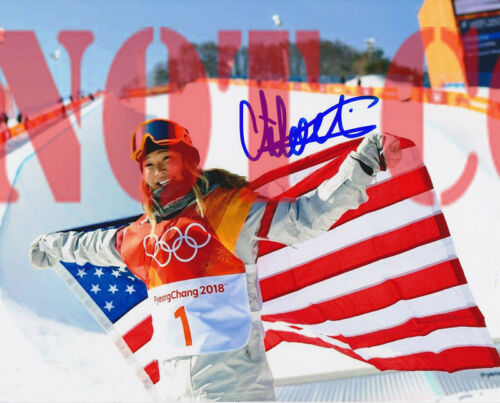 Chloe Kim USA Snowboarding 2018 Olympics Autographed 8x10 Signed Photo Reprint