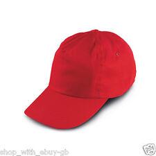 46b15c4ec68 Kids Plain Baseball Cap Adjustable School Girls Boys Junior Childrens Hat  Summer