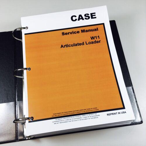 case w11 manual