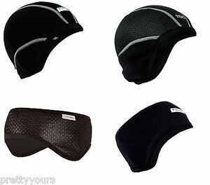 New Mens Womens cycling headband windproof helmet hat bandeau sweatband Unisex