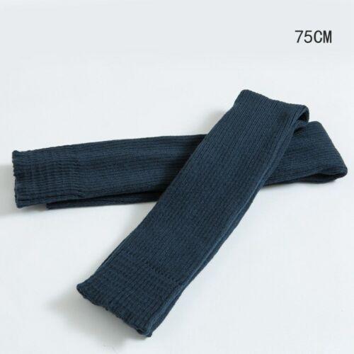 75CM Stockings Yoga Warmers Leg Ballet Knee-high Women Socks 15 Knitted Colors