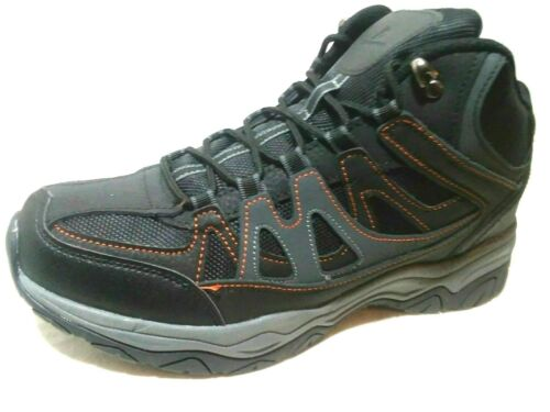 """OZARK TRAIL-MEN /""""GENUINE LEATHER/"""" MOST SIZES-HIKERS//TRAIL//HUNTING BLK//GRY-BOOTS"""