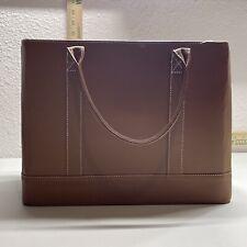 Chic Hanging File Folder Organizer Tote Handled Portable Document Storage Bag