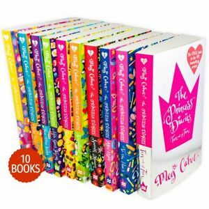 Princess-Diaries-10-Books-Children-Collection-Paperback-By-Meg-Cabot