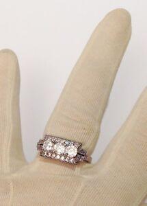 bague-argent-925-poincon-style-joaillerie-cristaux-solitaire-diamant-T-57