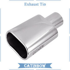 """3/""""DIAM DTM SQUARE STAINLESS STEEL EXHAUST PIPE TIP MT 5131"""