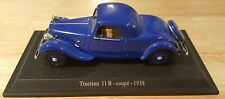 RARE CITROEN TRACTION 11 B COUP 1938
