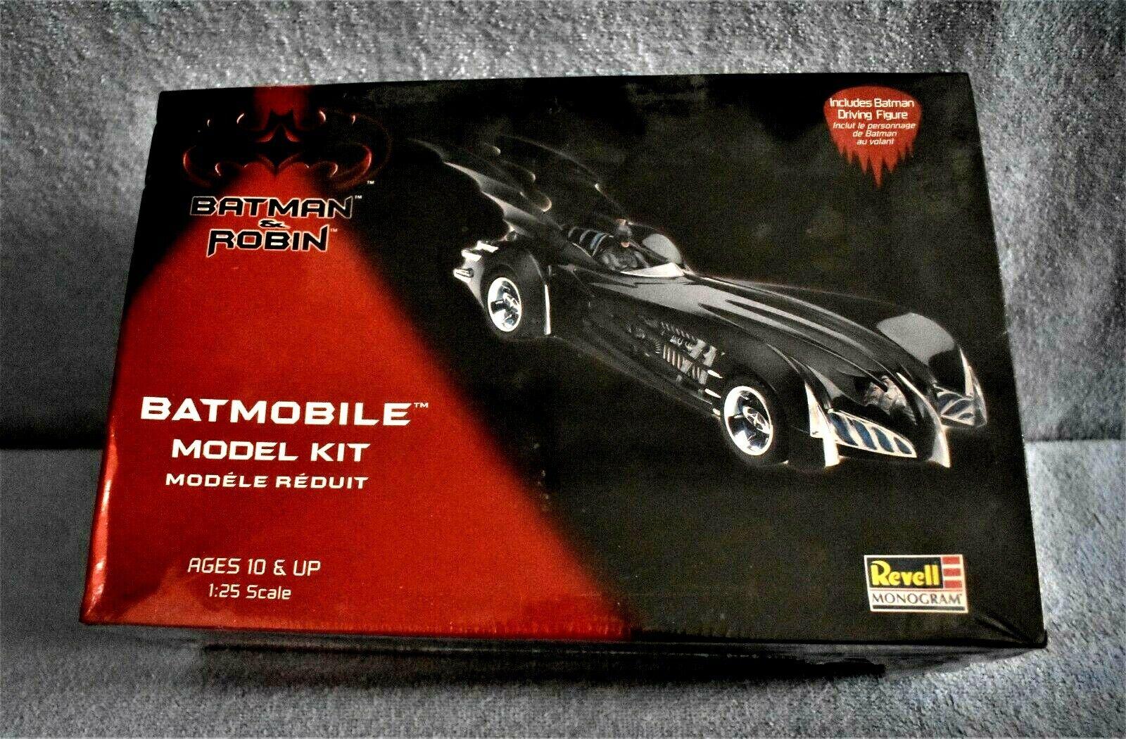 1997 Revell Model Kit 85-6724 Batmobile W Batman Driving for sale online