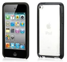 GRIFFIN Reveal Black & Clear Slim Case for iPod Touch 4th Gen with Stand GB01915
