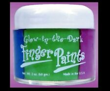 Body Paint Glow in the Dark  Body Finger Paint Black Light Sensitive adult