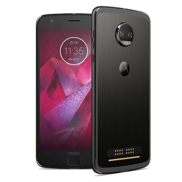 3a7d9c91abb Motorola Moto Z Force 2nd Generation - 64 GB - Lunar Grey (T-Mobile)  Smartphone