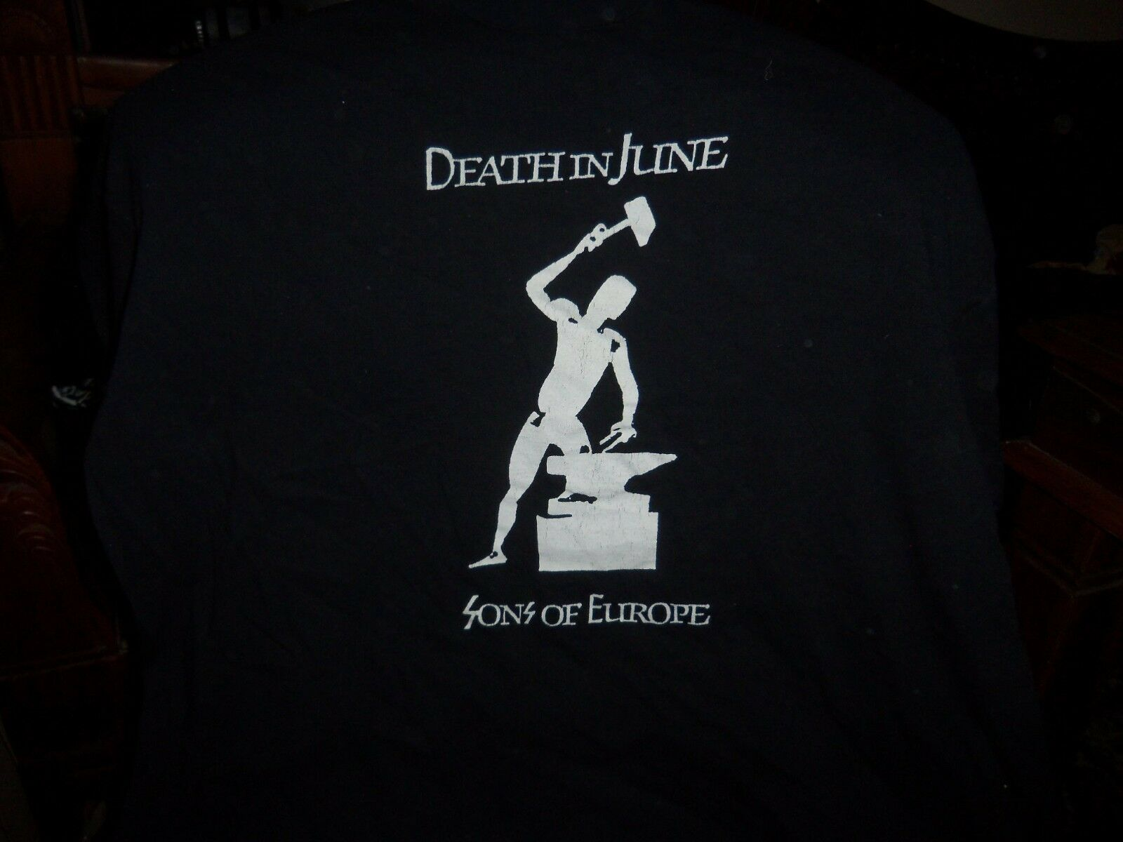 OFFICIAL SPANISH DEATH IN JUNE T-SHIRT VINTAGE IN VERY GOOD CONDITION XXL-SIZE