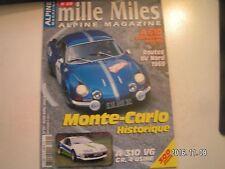 ** Alpine magazine n°29 A610 suspension pilotée / A310 V6 GR 4 usine