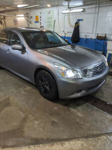 2007 G35S RWD with 159000km A1, 307HP,  Paddle Shifter