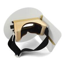 Wendys Pancake Welding Hood Helmet With Strap Left Handed White