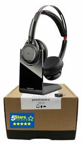 Plantronics Voyager Focus UC B825 Wireless Headset (202652-01, 202652-101) NEW