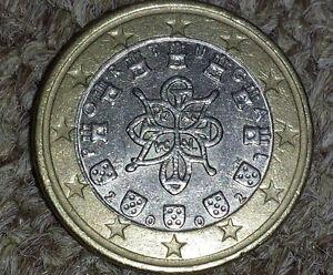 1 Euro Fehlprägung Portugal Spiegelei Ebay