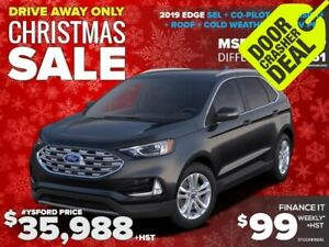 2019 Ford Edge SEL Finance for $99/week+HST