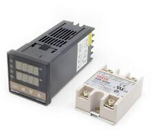 New Digital Pid Temperature Controller Thermostat Rex C100 Max40a Ssr Relay K
