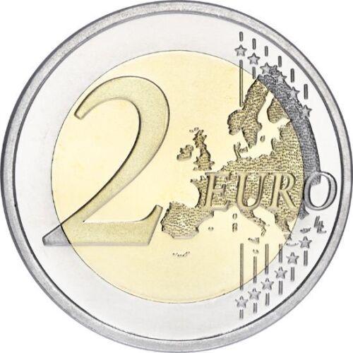 """2016 Finland 2 Euro Uncirculated Coin /""""Eino Leino /& Poetry/"""""""