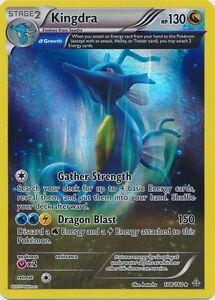 XY Primal Clash RARE Rev Holo MINT! Pokemon KINGDRA 108//160