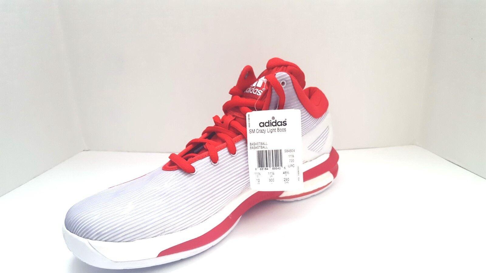 neue adidas - mann ist sm - verrückte licht boos basketball - sm schuhe sz 12us 06da10