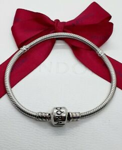Genuine Pandora Silver Bracelet With Silver Clasp 20cm Item# 590702HV