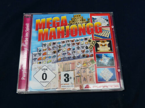 1 von 1 - Cd-Rom : Mega Mahjongg  -  Pyramide