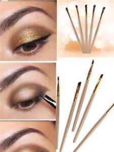 PRO-2pcs-Eyebrow-Inclined-Flat-Angled-Brush-Eyeliner-Eyeshadow-Eye-Brow-Makeup