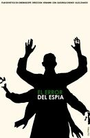 8429.el Error Del Espia.soviet Film.six Armed Man.poster.movie Decor Graphic Art
