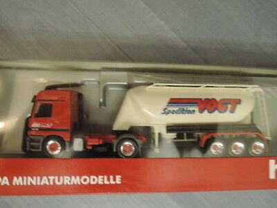 Beautiful And Charming Selfless Herpa 145619 Mb Actros Sattelzug Silo Spedition Vogt Aus Sammlung Ovp 500