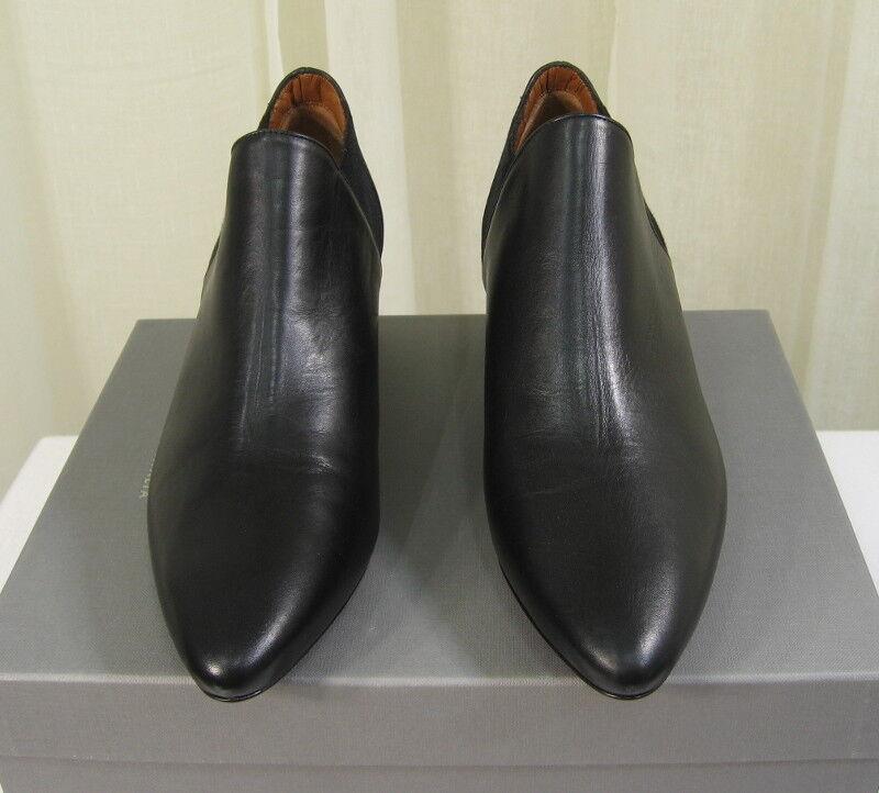 NIB Aquatalia Poppy Weatherproof Chelsea Chelsea Chelsea Ankle Leather Elastic Bootie Size 9.5 598ea4