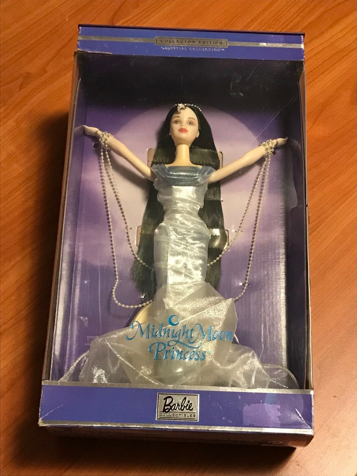 BARBIE MIDNIGHT MOON PRINCESS - CELESTIAL COLLECTION  2000  NRFB