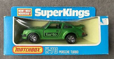 Matchbox Superkings Super Kings K 70 Porsche 911 Carrera Turbo Box Ebay