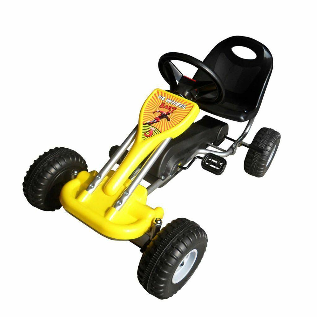 VidaXL Go Kart con Pedali Sedile Regolabile Gituttio Bambini Giocattolo Esterno