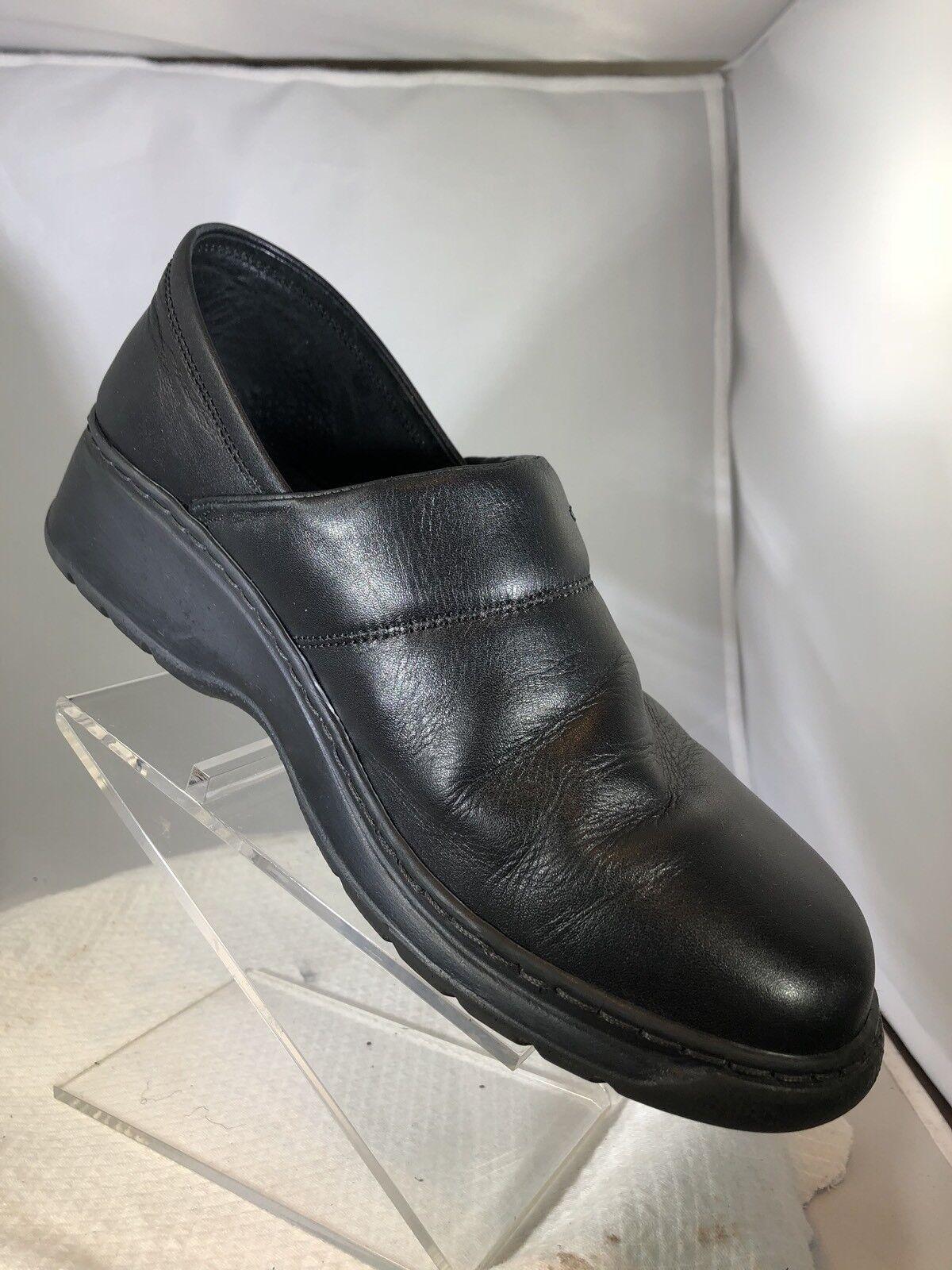 Joseph Seibel Black Clogs Mule Slip On Women shoes Size US 9.5 Euro 40