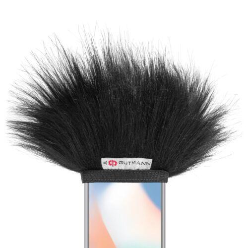 Gutmann micrófono protección contra el viento para Apple iPhone 7 premium Black