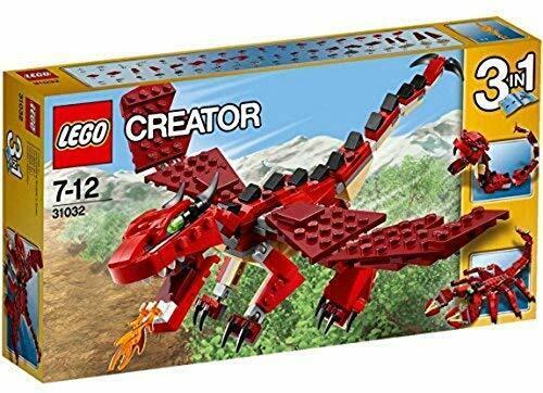 Lego Creator  criaturas Rojo (Set 31032)  NUEVO EN CAJA  - Raro