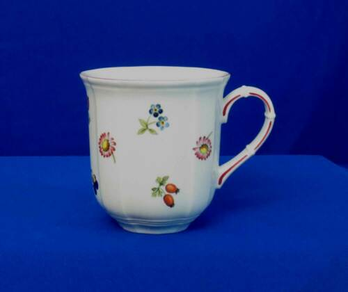 Villeroy and Boch Petite Fleur Mug Flower Sprigs Berry Trim Luxembourg bfe2741
