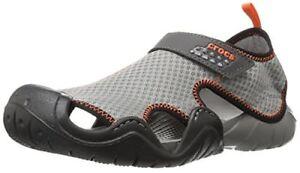 8ce1ef77715e Image is loading crocs-Crocs-Mens-Swiftwater-Flat-Sandal-Select-SZ-