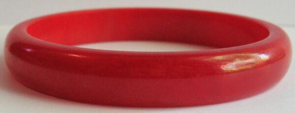 100% Wahr Vintage Candy Apple Rot Marmoriert Bakelit Armreif Armband Zu Den Ersten äHnlichen Produkten ZäHlen