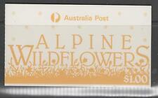 AUSTRALIA SGSB56 1986 ALPINE WILDFLOWERS $1 BOOKLET MNH