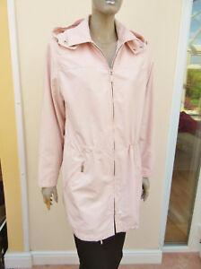 Basler-Pale-Pink-Hooded-Medium-Weight-Coat-size-12-14-16