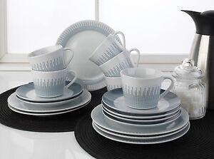 18 tlg kaffeeservice kaffeegeschirr geschirrset 6 personen porzellan wei noemi ebay. Black Bedroom Furniture Sets. Home Design Ideas