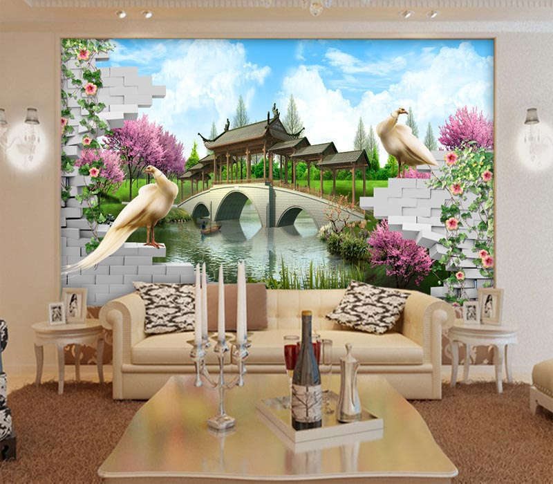 Prominent Big Pigeon 3D Full Wall Mural Photo Wallpaper Printing Home Kids Decor