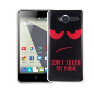 online store 18e45 e58e5 Details about Case For ZTE Blade L3 Dont Touch Red Case Cover Motif TPU  Bumper