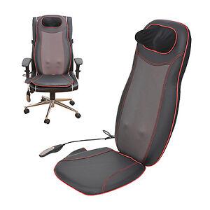 Homcom Massage Cushion Chair Massagers Seat Heated