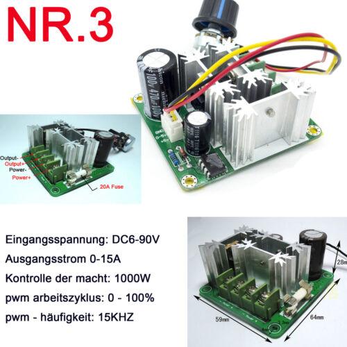 High-Speed PWM Führte Dimmer 5A 10A 15A 20A 30A Steuerung Drehzahlregler Schalte