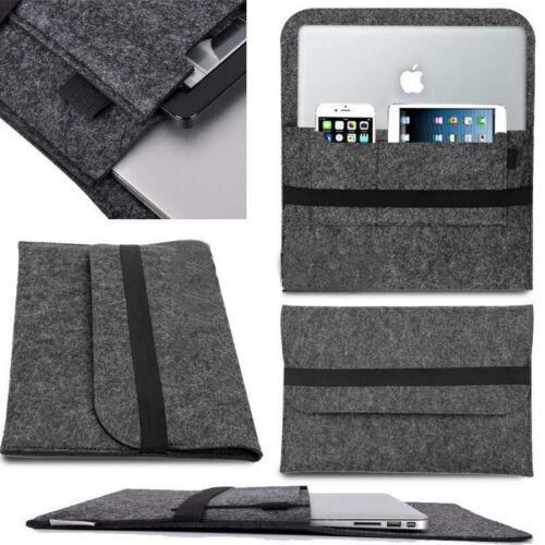 Laptop Lana Feltro Custodia Cover Sacchetto Per MacBook 11//13//15//12 Tablet Pro Air